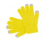 Actium érintőképernyős kesztyű, sárga
