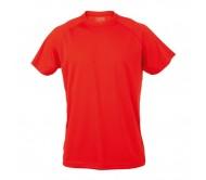 Tecnic Plus T felnőtt póló, piros