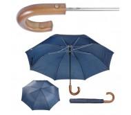 Stansed összecsukható fanyelű esernyő, kék