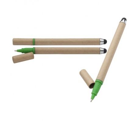 EcoTouch újrahasznosított papír érintőképernyő ceruza és golyóstoll