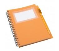 Tagged jegyzetfüzet, narancssárga