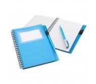Tagged jegyzetfüzet, kék