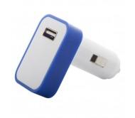 Waze USB-s autós szivargyújtó, kék