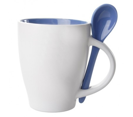 Spoon bögre, kék
