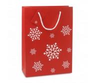 Nagy ajándéktáska, piros