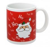 XMAS CUP karácsonyi bögre, vörös